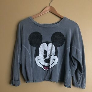 Disney Mickey Crop Top